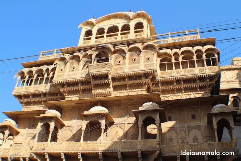 Palácio do Forte de Jaisalmer