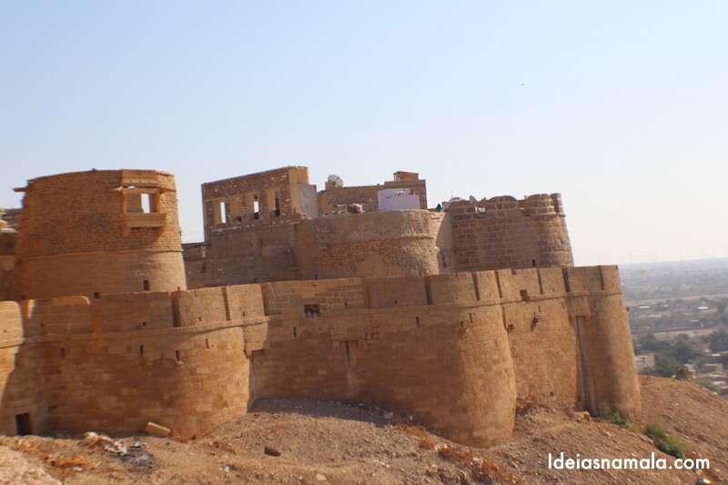 Mirante do forte de Jaisalmer