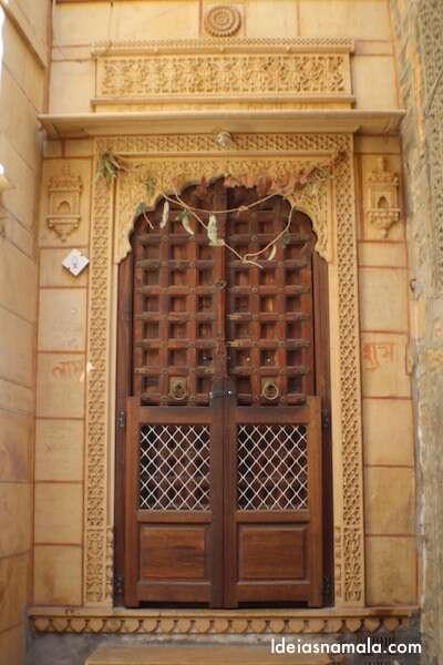 Porta linda em Jaisalmer