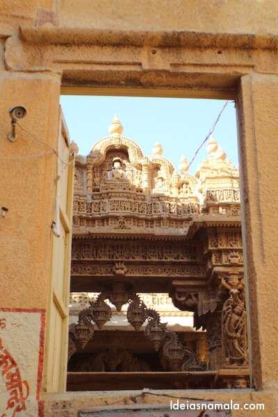 Detalhes do templo Jainista