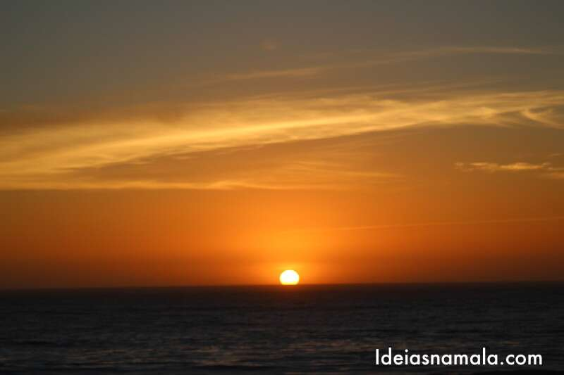 Pôr do sol - Cambria