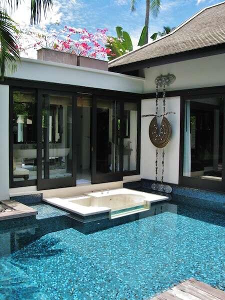 Nossa villa no Anatara de Phuket