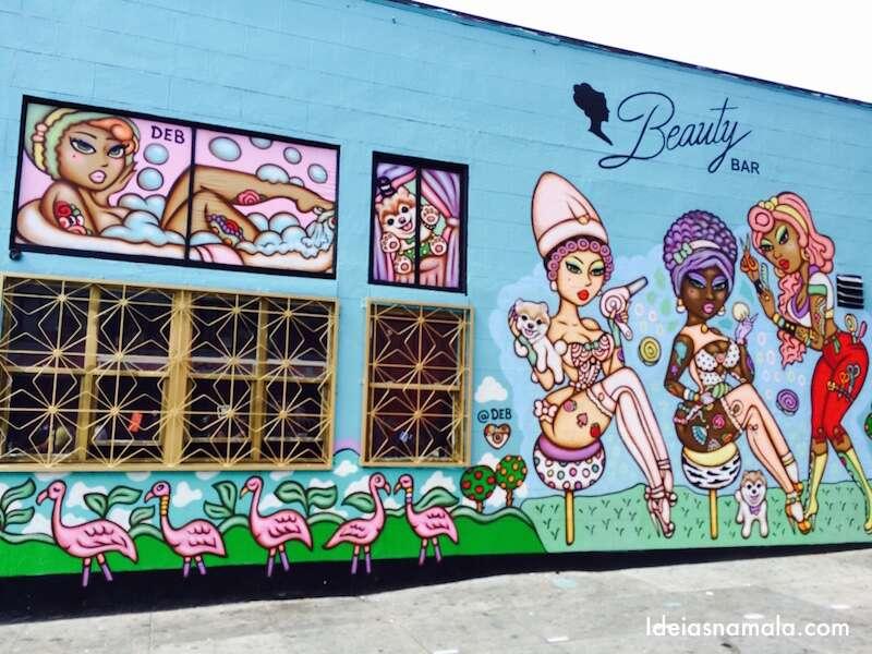Grafite em Mission