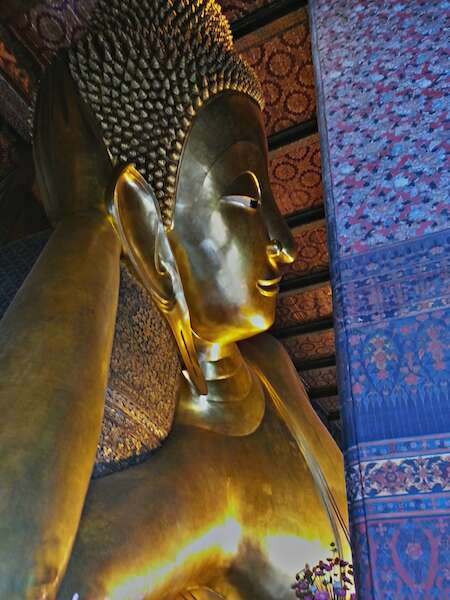 Buda Reclinado do Wat Pho