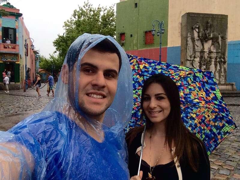 City Tour com chuva
