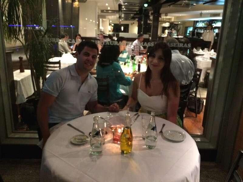 Jantar em Puerto Madero