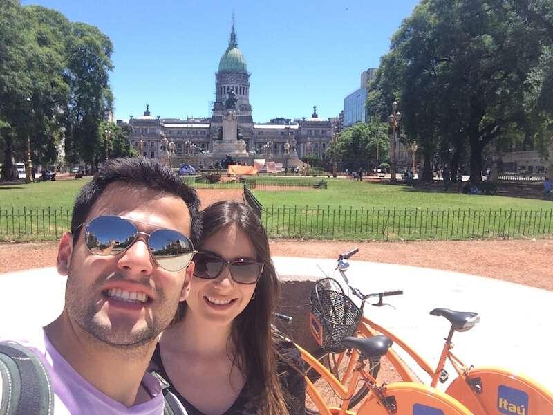 Bikes do Itaú