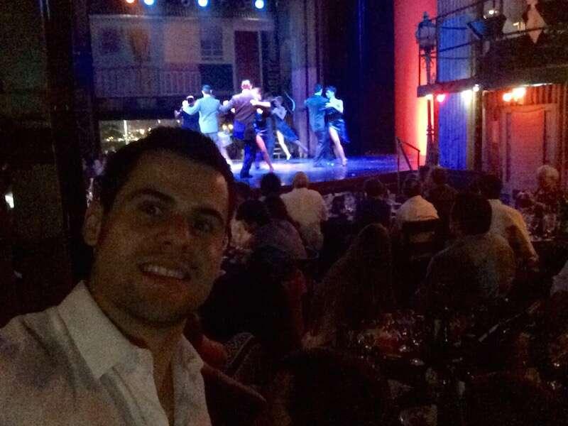 Show de Tango do Madero Tango