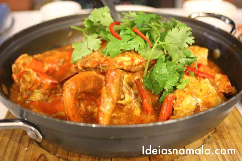 Carangueijo tradicional -Jumbo - Cingapura