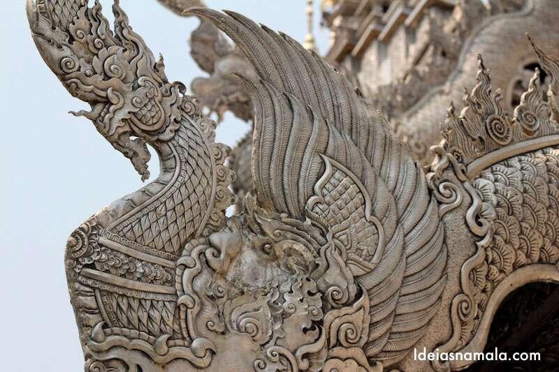 Chiang Mai - Templo de Prata