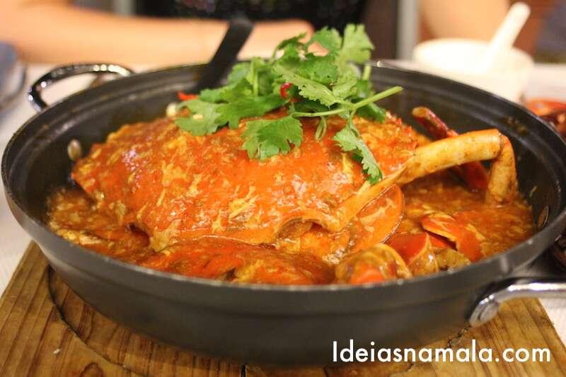 Chilli Crab -Jumbo - Cingapura