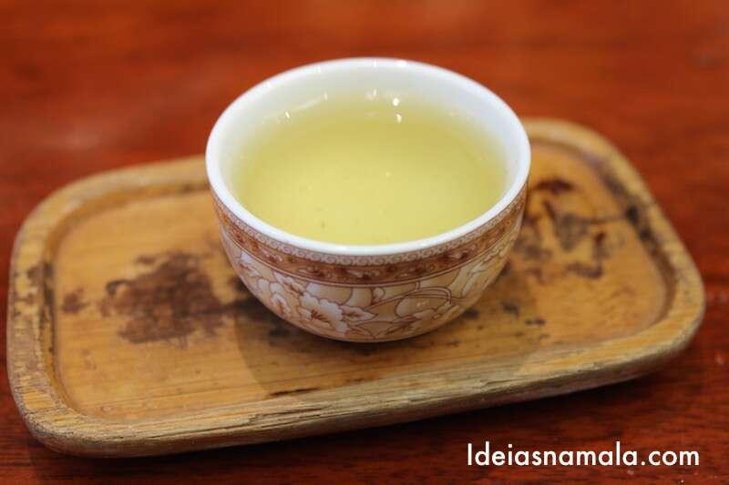 Degustação de chá na Vital Tea Leaf