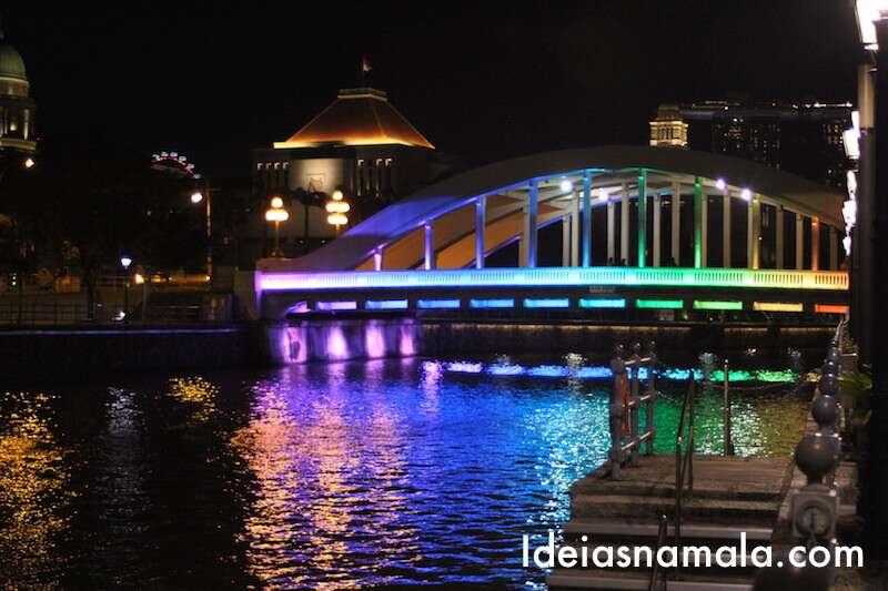 Cingapura a noite