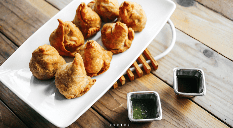 Samosas do Curry Up