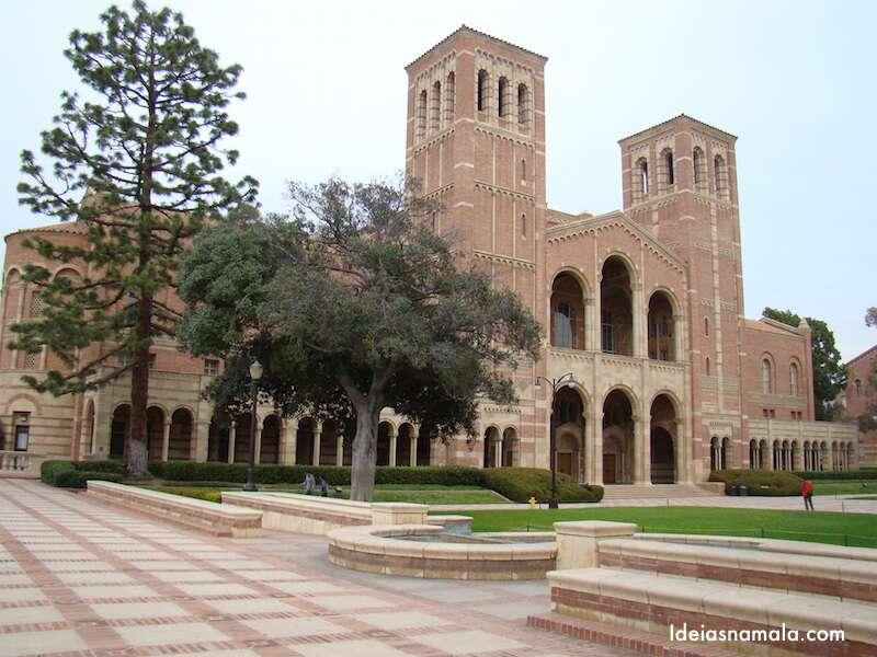 Campus lindo da UCLA