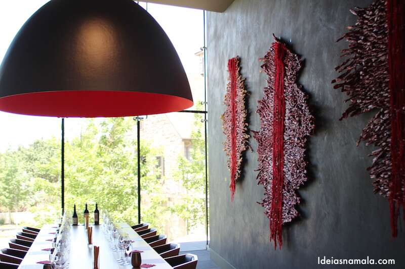 Sala de degustação de vinhos