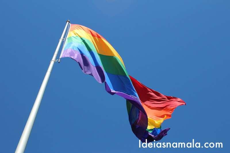 Bandeira no Castro - San Francisco