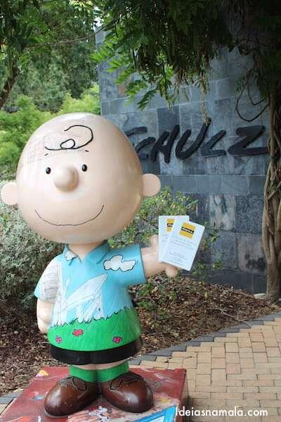 Museu do Snoopy - Santa Rosa