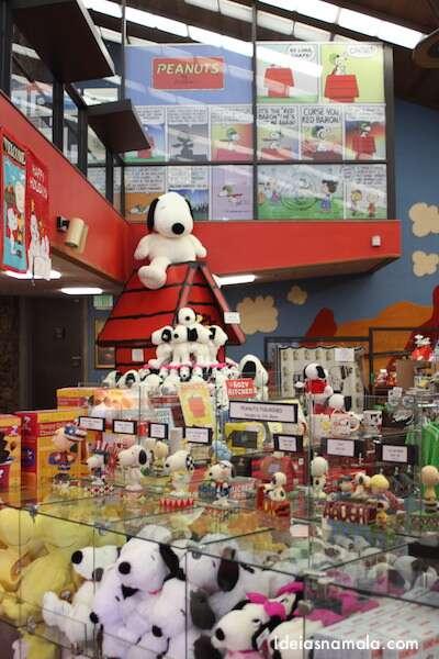 Lojinha da turma do Snoopy
