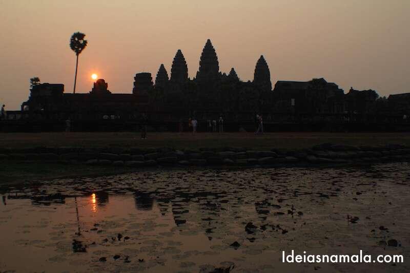 Nascer do sol - Angkor Wat