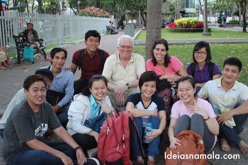 Talk with the Tourist - Vietnã
