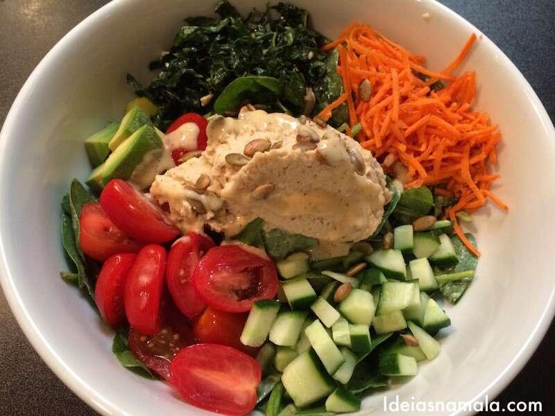 Salada Rainbow do Jane - San Francisco