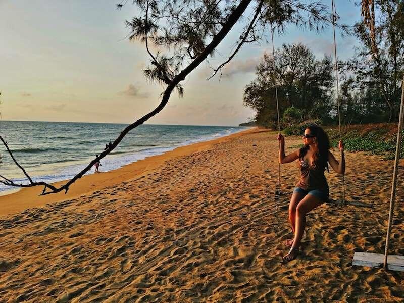Phuket - Praia do Anantara Hotel