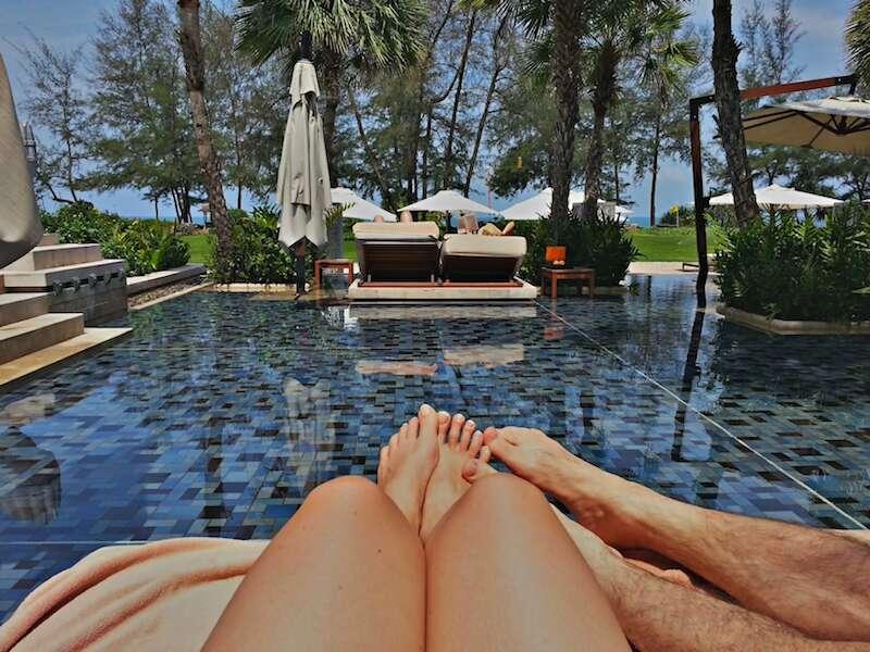 Piscina do Anantara Hotel