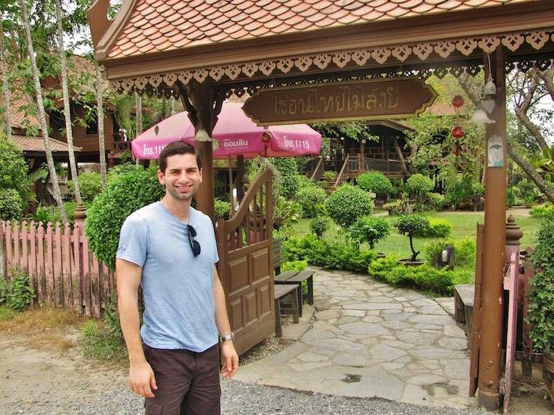 Foto do famoso restaurante