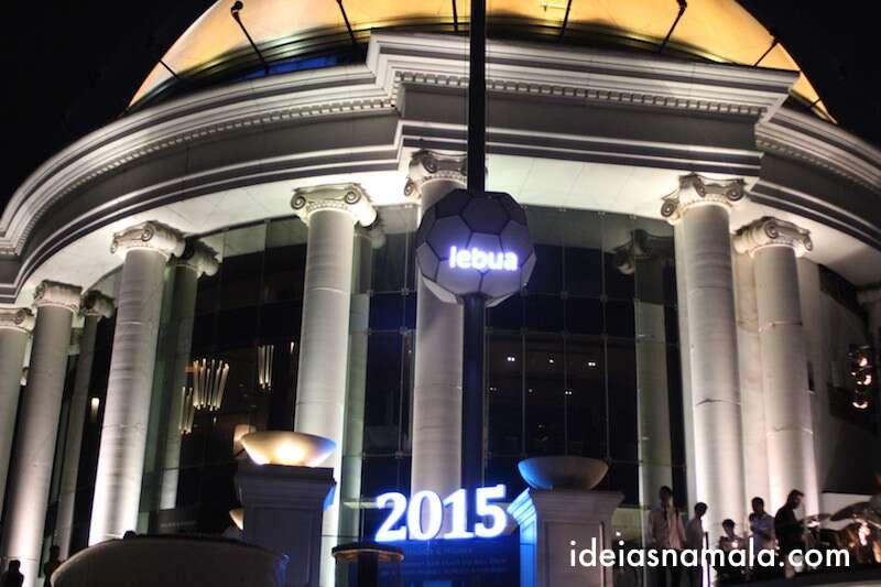 Sky Bar e Restaurante Sirocco em Bagkok