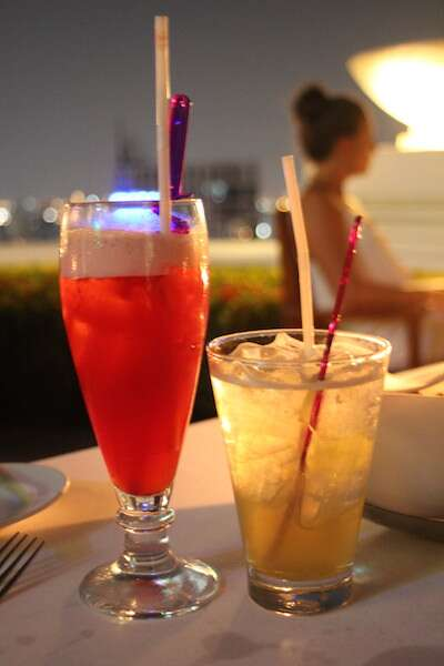 Bebidas do Sirocco