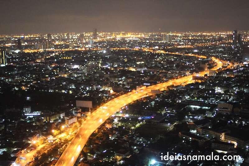 Bangkok visto do Sirocco