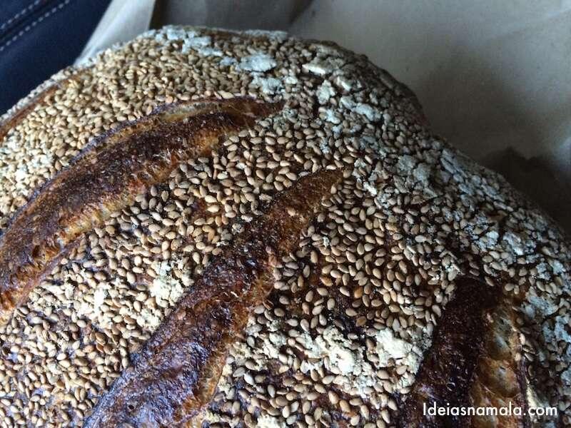 Pão fresquinho da tartine