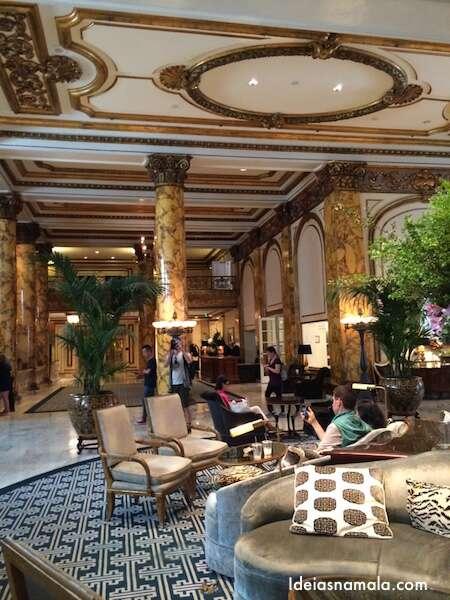 Lobby do Fairmont - San Francisco