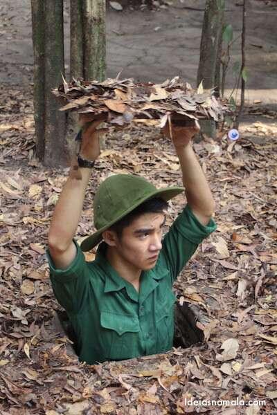 Tuneis Cu Chi - Vietnã