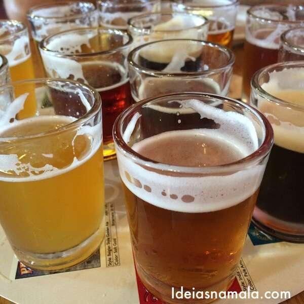 Degustação de cervejas - Fort Bragg