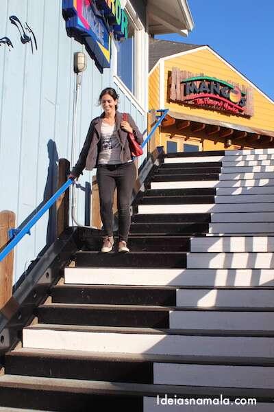 Escada Musical - Pier 39
