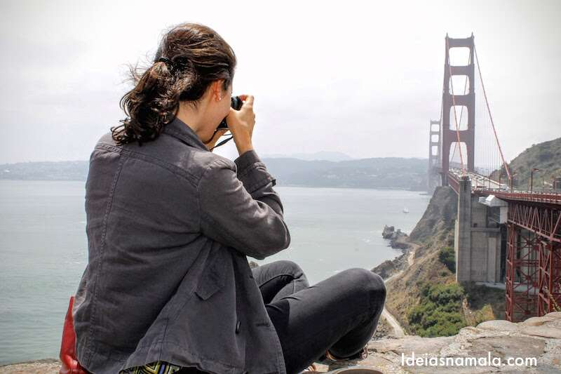 Fotografando a Golden Gate