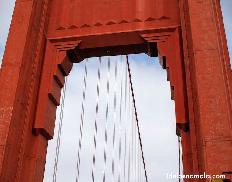 Cruzando a Golden Gate Bridge