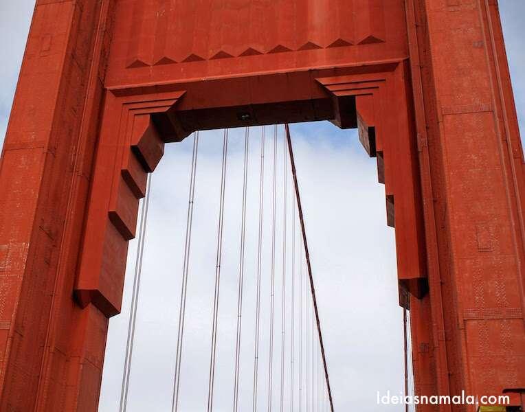 Cruzando a Golden Gate Bridge