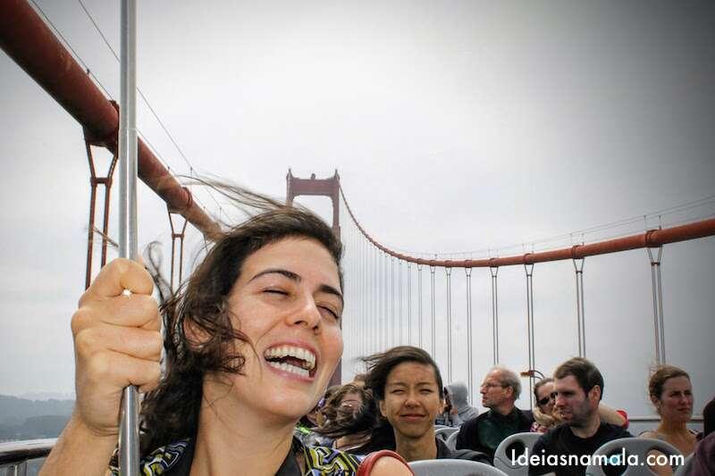 Hop-on Hop Off na Golden Gate Bridge