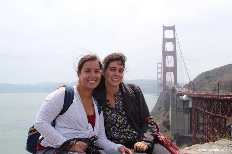 Golden Mirante da Gate Bridge - San Francisco