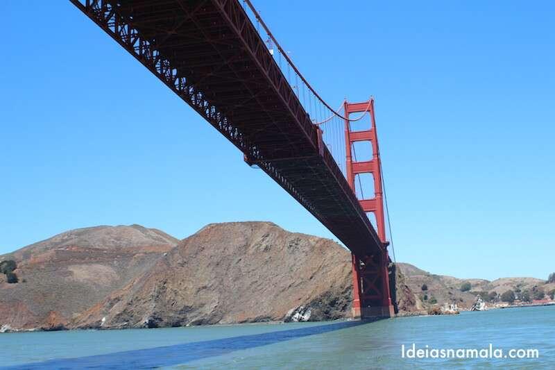 Passeio de barco pela Golden Gate - San Francisco