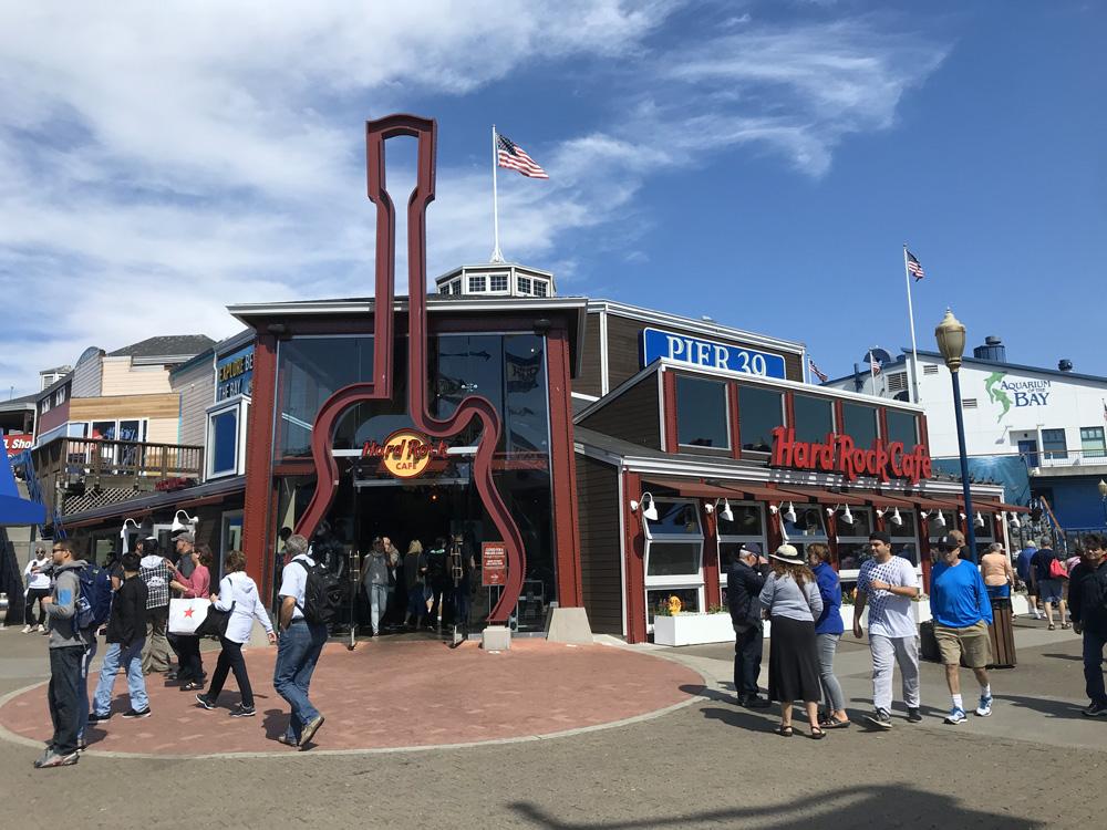 Hard Rock Cafe San Francsico