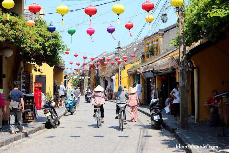Bicicleta em Hoi An