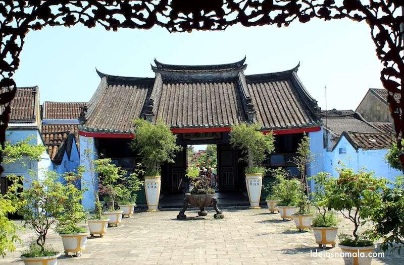 Templo em Hoi An