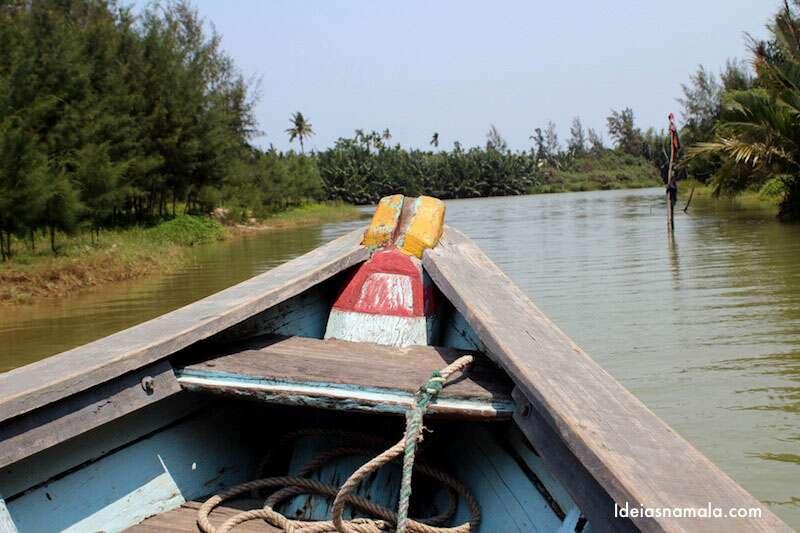 Passeio de barco em Hoi An