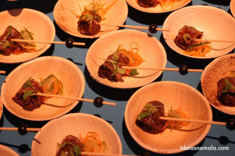 Beef Tatami do Michael Mina