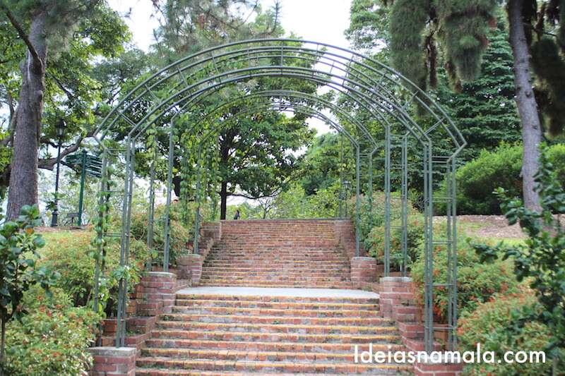 Escadaria histórica - Cingapura