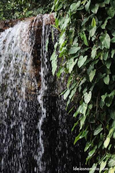 Cachoeira no jardim Botânico de Cingapura